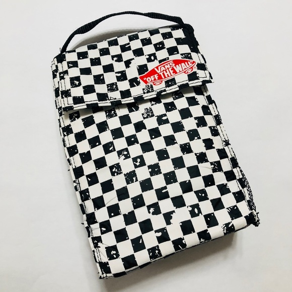 Vans Off The Wall Checkered Insulated Lunch Bag OS.  M 5bb98a791b3294cef679cee0 a9ffa93069bad